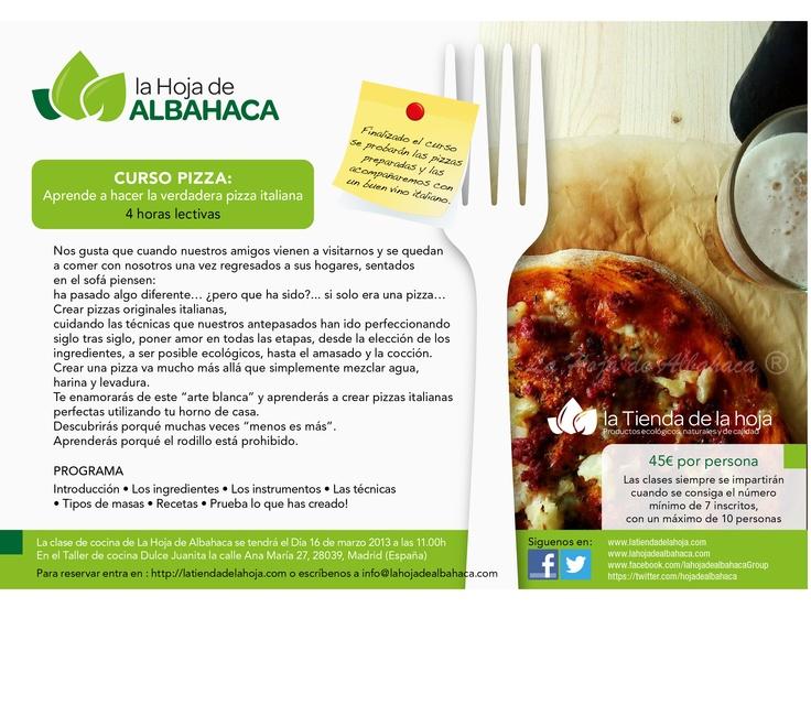 Clases de cocina curso pizza aprende a hacer la verdadera pizza italiana anuncios gratis - Curso de cocina italiana madrid ...