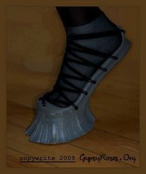@Crystal Cox Heels so high they dont exist...  can you walk in them....costume hooves, faun hooves, faun costumes, fawn costume