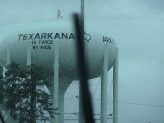 Day 6: And we arrive in Texarkana (Texas or Arkansas who knows)