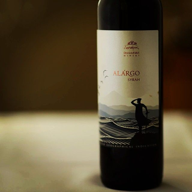 #Douloufakis #Winery, a family winery based in #Crete, Greece. And they have #Syrah!