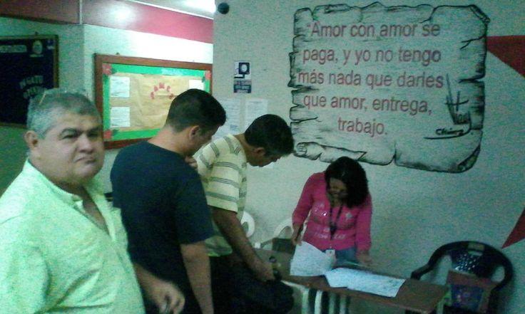 #UBV #Táchira Elijen Consejo popular estudiantil en Sede Antonio José de Sucre (nocturno)