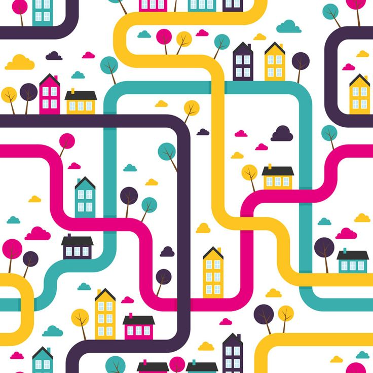 Free vector map pattern - from www.shutterstock.com