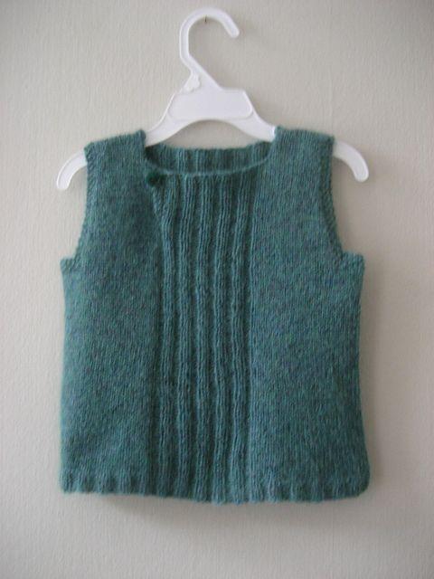 Ravelry: Feliga's Blue-green vest for M #3