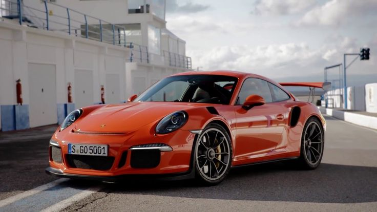 2015 Porsche 911 GT3 RS video debut I