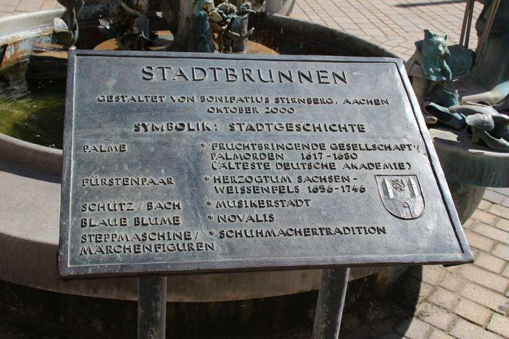 Der Stadtbrunnen von Weißenfels