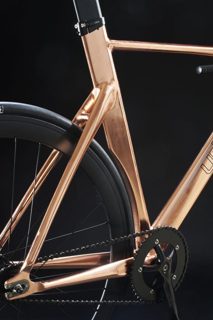 #design #urbike #bicycle #track #copper #speed #bike #bikeporn