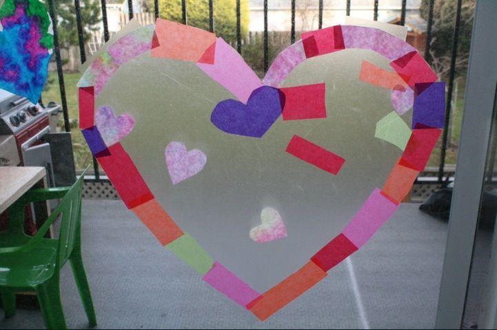 Toddler Valentine Crafts