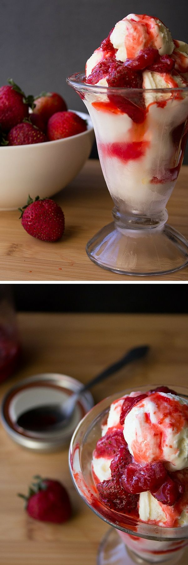 Strawberry Sundae Sauce. Make your own strawberry sundae sauce from scratch - drizzle it on ice cream or pancakes -you'll love this easy recipe!
