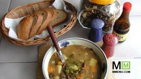 Крестьянский картофельный суп(Selská bramboračka)