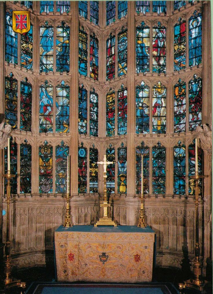 Royal Air Force Chapel. Westminster Abbey, London