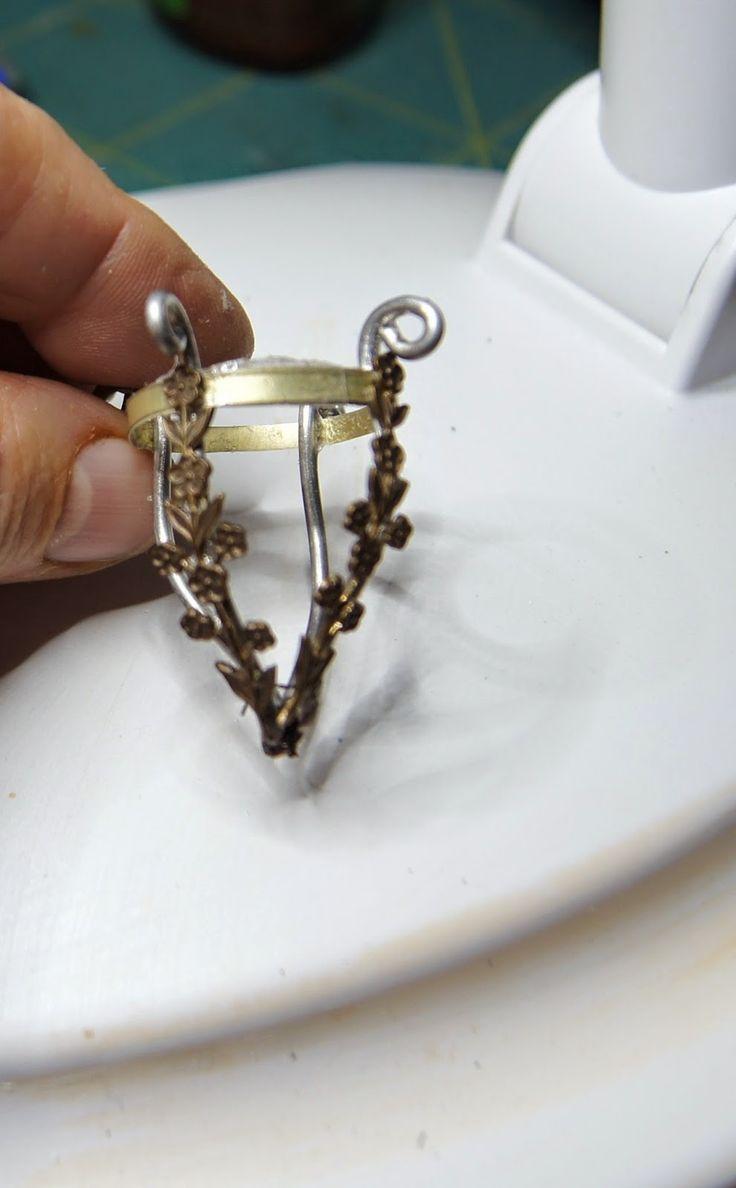 511 best miniature lamps and lighting diy images on pinterest nono mini nostalgia how to make a flea market light fixture good tutorial arubaitofo Choice Image