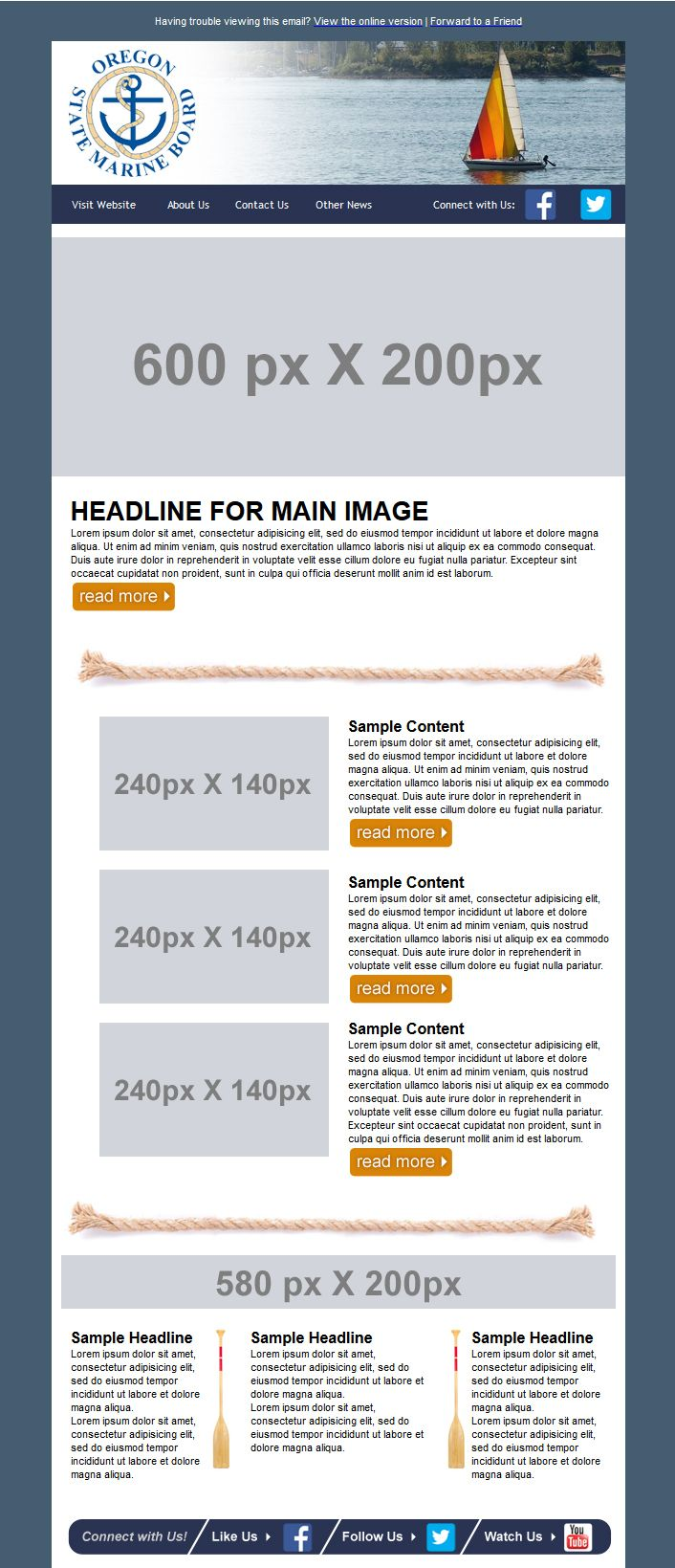 17 Best images about Design Services Custom Email ...