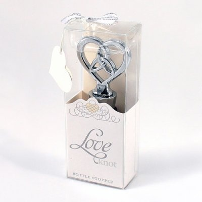 love knot bottle stopper ideas weddingfavors weddingfavors wedding ...