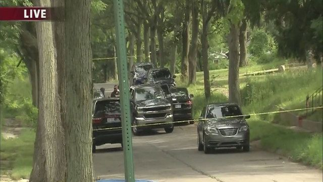 A body has been found in Detroit's Brightmoor neighborhood Friday afternoon.