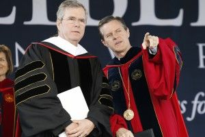 Jeb Bush cozies up to haters: Jerry Falwell, Liberty University and the real story of religious right evil
