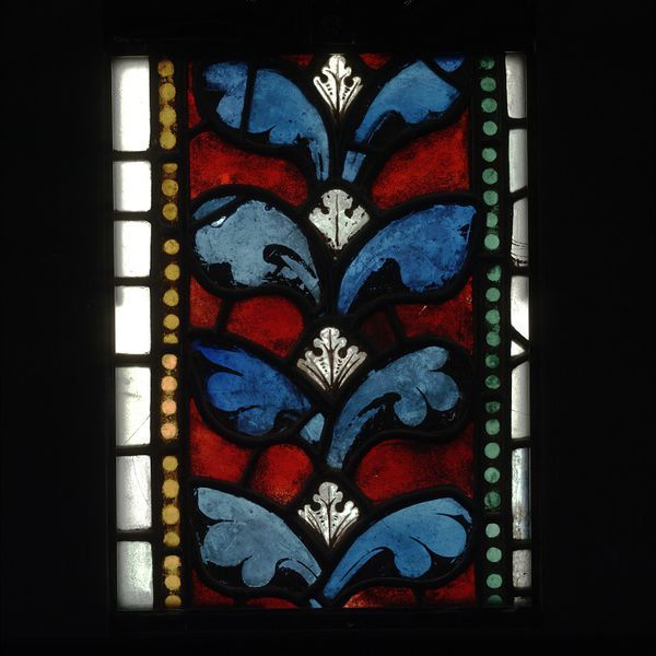 Stained glass panel from the Canterbury Cathedral in Kent. England, ca. 1200-1220. l Victoria and Albert Museum