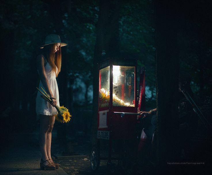 The night was dark and full of wonders