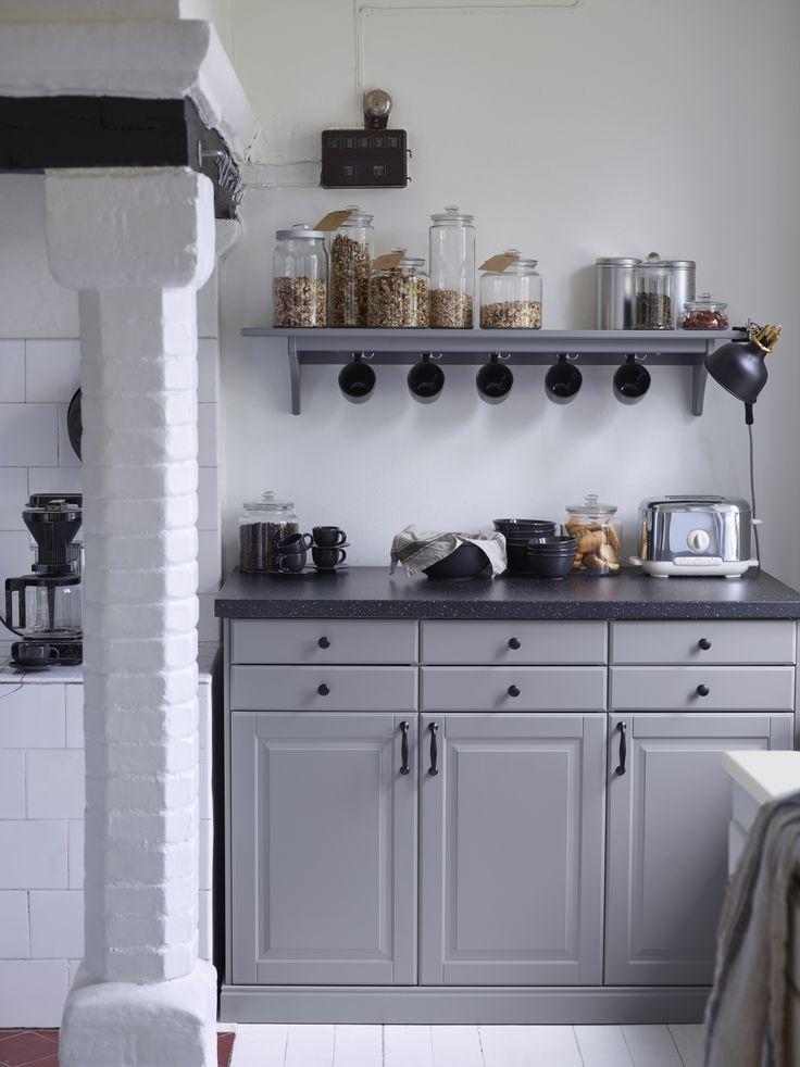 505 best keukens images on pinterest - Idee deco keuken grijs ...