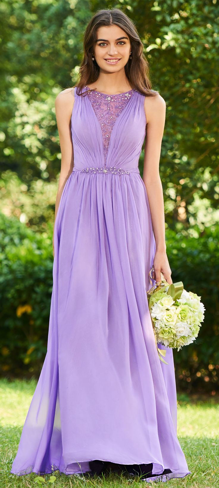 12 best Vestidos de color lavanda images on Pinterest | Lavender ...
