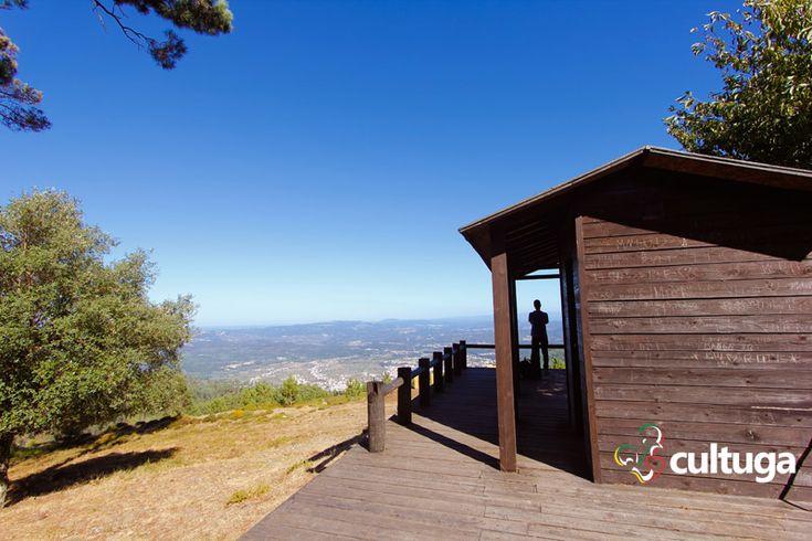 Miradouro do Chiqueiro, na Serra da Lousã, em Portugal