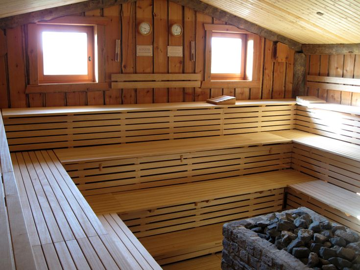 Sauna - Wikipedia, the free encyclopedia