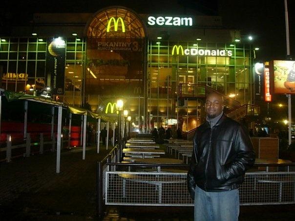 McDonalds in Warsaw Poland.