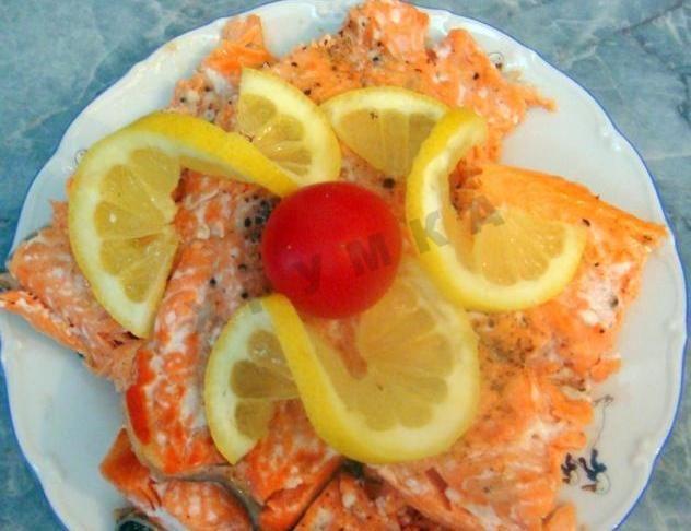 рецепты засолки форели с лимоном