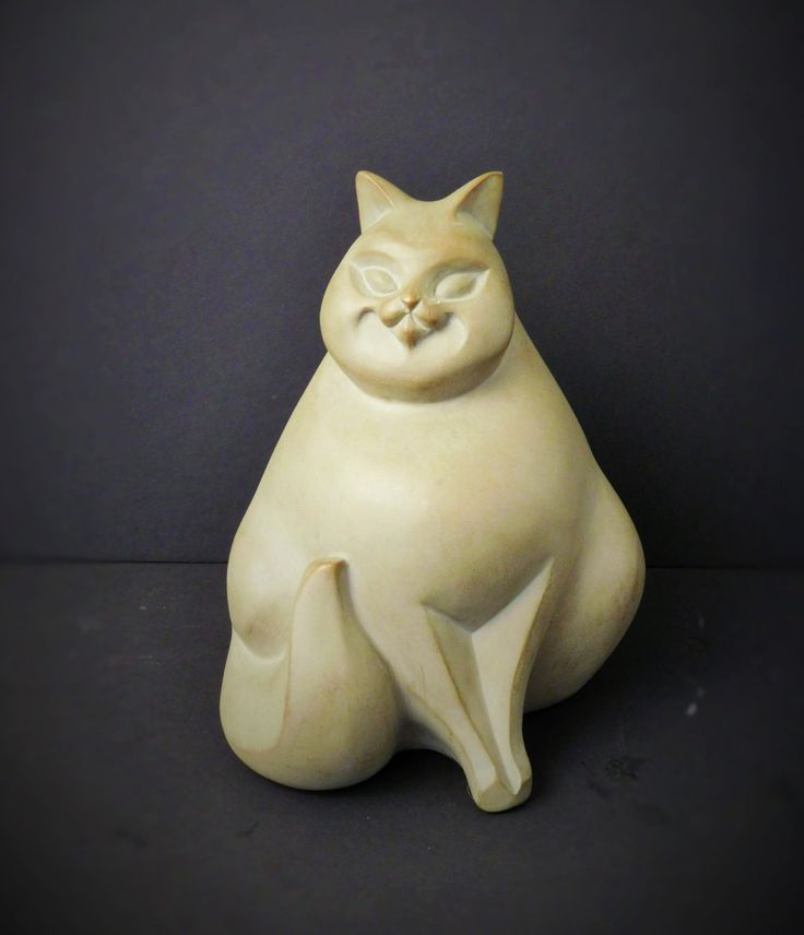 Consuela the Cat Austin Sculpture  AP 4276, Discontinued Collectible Decor - pinned by pin4etsy.com