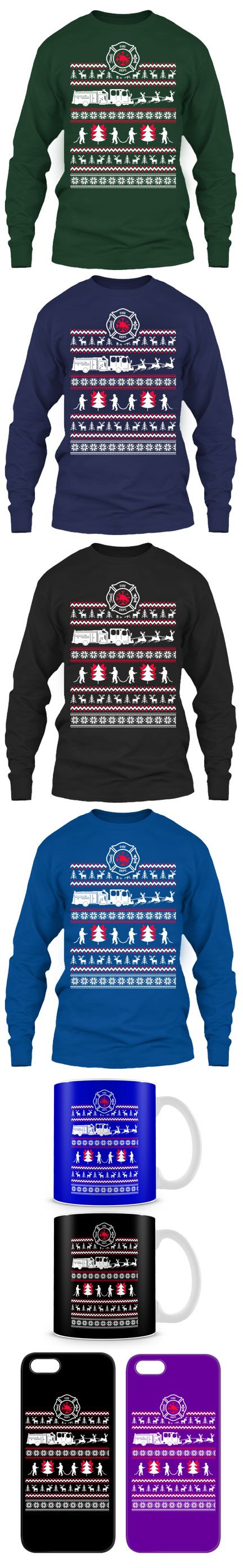 images about firefighters firefighter decor firefighter ugly christmas sweater click the image to buy it now or tag someone you