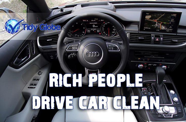You own a car? you should own a clean car. #TidyGlobe