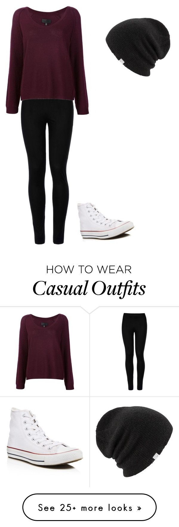"""Casual"" by jadenblanche02 on Polyvore featuring Wolford, Nili Lotan, Converse and Coal"