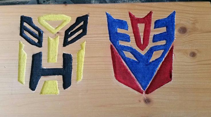 Transformers engraving