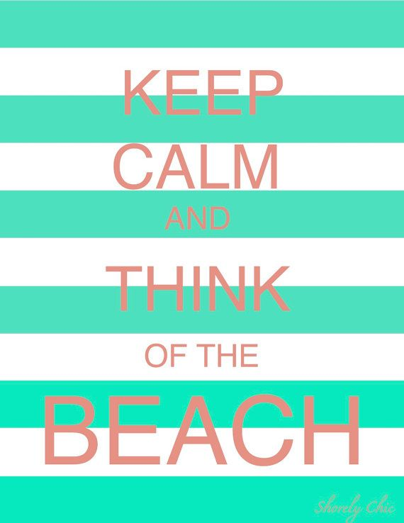 One more month and I'll be living next to the Beach :): At The Beaches, Happy Thoughts, Cant Wait, Gulf Shore, Quote, The Ocean, Keepcalm, Keep Calm, The Waves