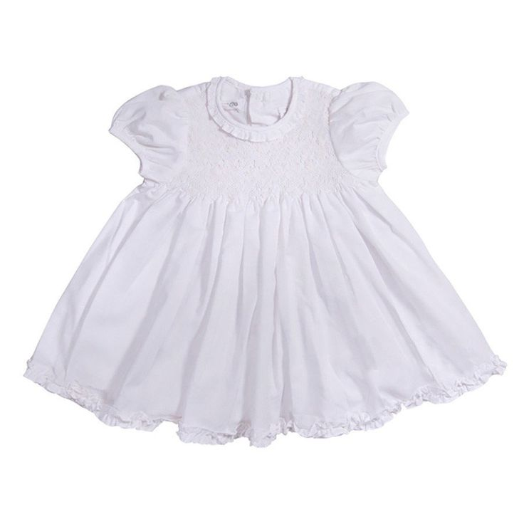 Traditional Dress- CS3807WH CS - Clothing - girls - Baby Belle