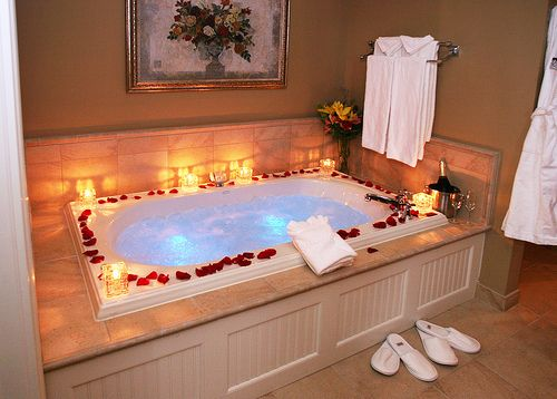 Would prepare this bath (  bubbles) for me after taking me out to an amazing dinner...