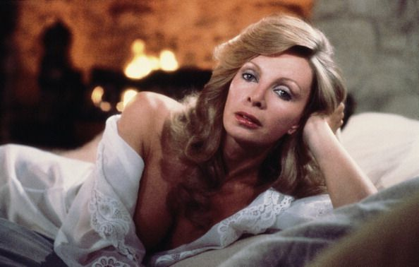Actress Cassandra Harris (1948 - 1991) stars as Countess Lisl von Schraff in the James Bond film 'For Your Eyes Only', 1981. (Photo by Keith Hamshere/Getty Images)