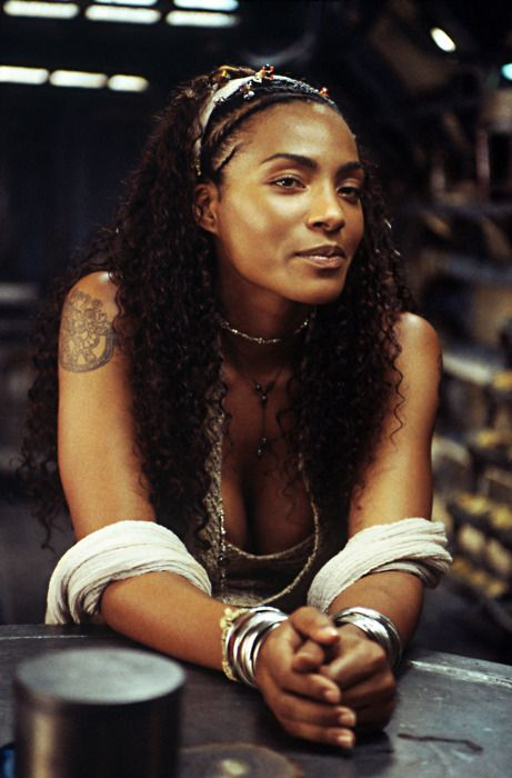 Nona Gaye. Beautiful daughter of Marvin. It's been a long time since The Matrix sequel. Would love to see more of her.