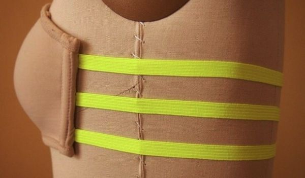 Three strap bra DIY for backless clothing