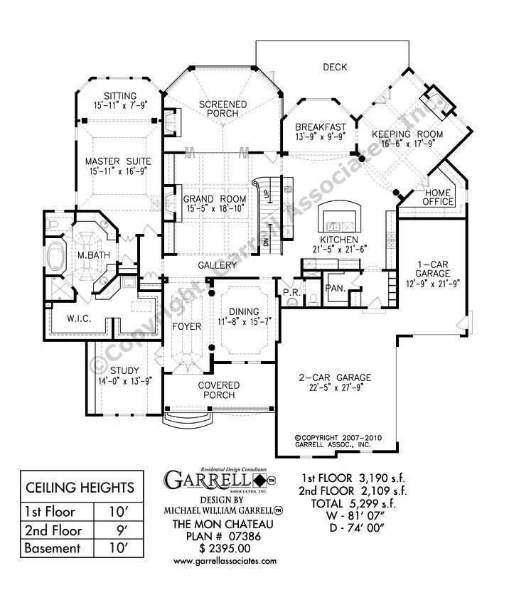 Mon Chateau House Plan 07386 1st Floor Plan Jpg 716 837 Pixels House Plans Country Style House Plans Country House Plans