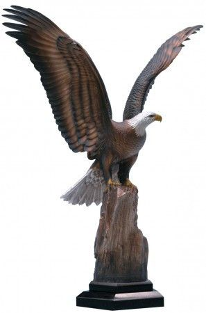 """Enduring Spirit"" Artist - Chester Fields Limited Edition Bronze Edition No 10 of 350 22"" High - Sculpture of an American Bald Eagle. #Eagles"