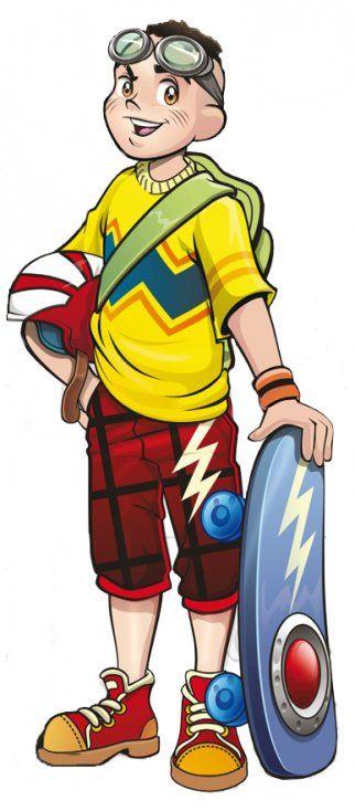 Cascão Jovem Skate 1