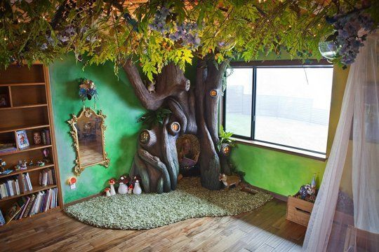 Area Man Builds Daughter Incredible Tree Bedroom, Strong Contender for World's #1 Dad — My Room | Apartment Therapy