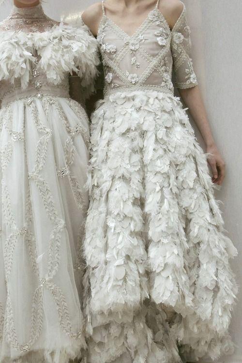 chanel haute couture details <3