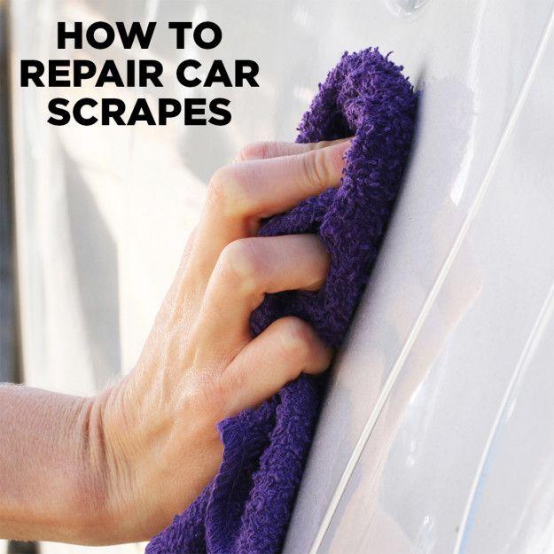 Cómo reparar arañazos en el coche 🚘 ✨ Instrucciones completas: bzfd.it/2d1z2sC