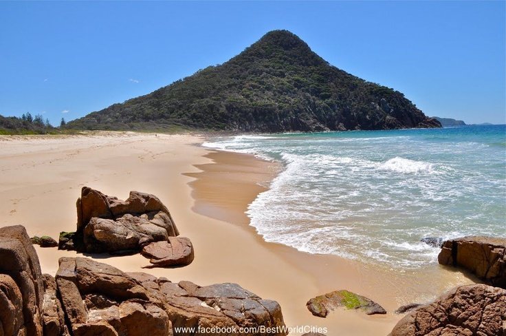 Stroll along one of the 26 beaches in Port Stephens - they're all beautiful and all different.