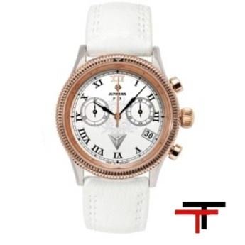 Reloj Junkers Cronografo Blanco Oro Rosa  http://www.tutunca.es/reloj-junkers-cronografo-blanco-oro-rosa