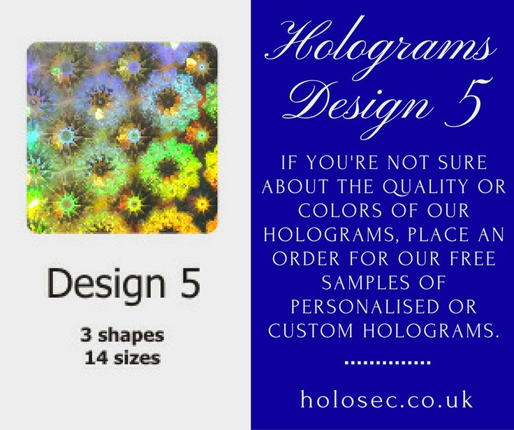 HoloSec Holograms provide an additional layer of security, to protect your products from imitation and other illegal activities. Place order for customized holograms that ensures brand awareness and security, at once.