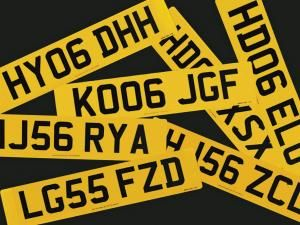 Personalised number plates at risk in write-off and theft claims