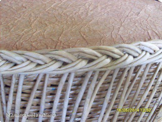 Поделка изделие Пасха Плетение Несколько плетушек + маленький МК Бумага газетная Трубочки бумажные фото 26