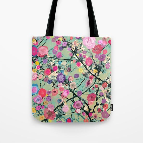 Floral abstract(60) Tote Bag